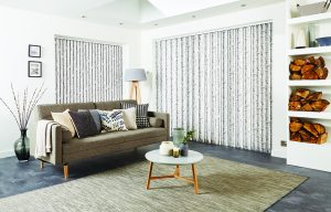 Birch vertical blinds